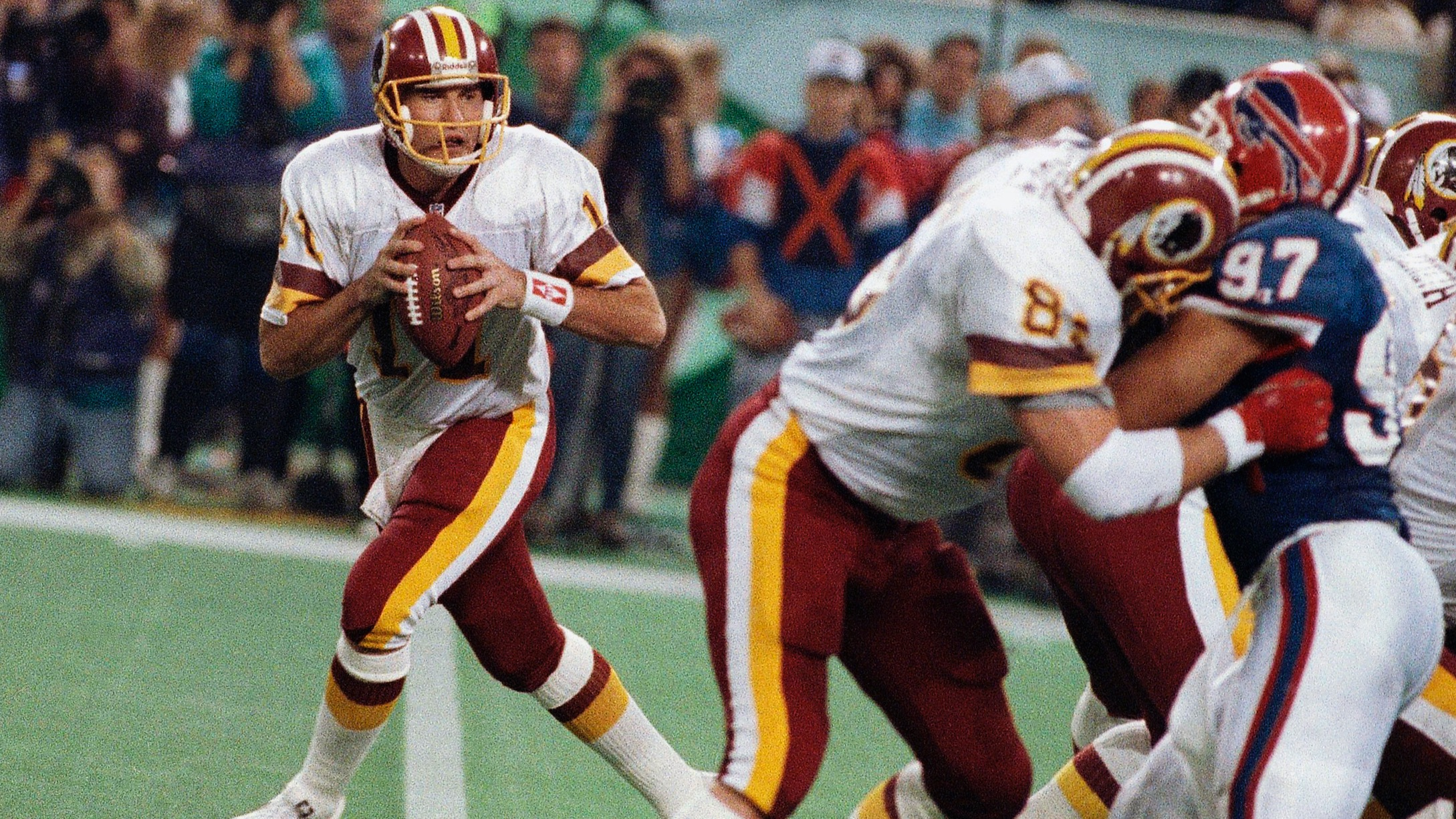 Former Super Bowl MVP Mark Rypien told officer he struck his wife after incident in car: report thumbnail