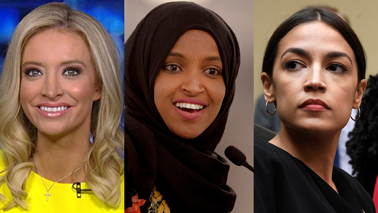 Westlake Legal Group McEnany-Omar-AOC-AP Trump 2020 press secretary: 'Time after time we see these anti-American remarks' from Democrat 'squad' Victor Garcia fox-news/topic/fox-news-flash fox-news/person/ilhan-omar fox-news/person/donald-trump fox-news/person/alexandria-ocasio-cortez fox-news/entertainment/media fox news fnc/politics fnc article 153c118c-ed67-50d8-8732-861b3bcad787