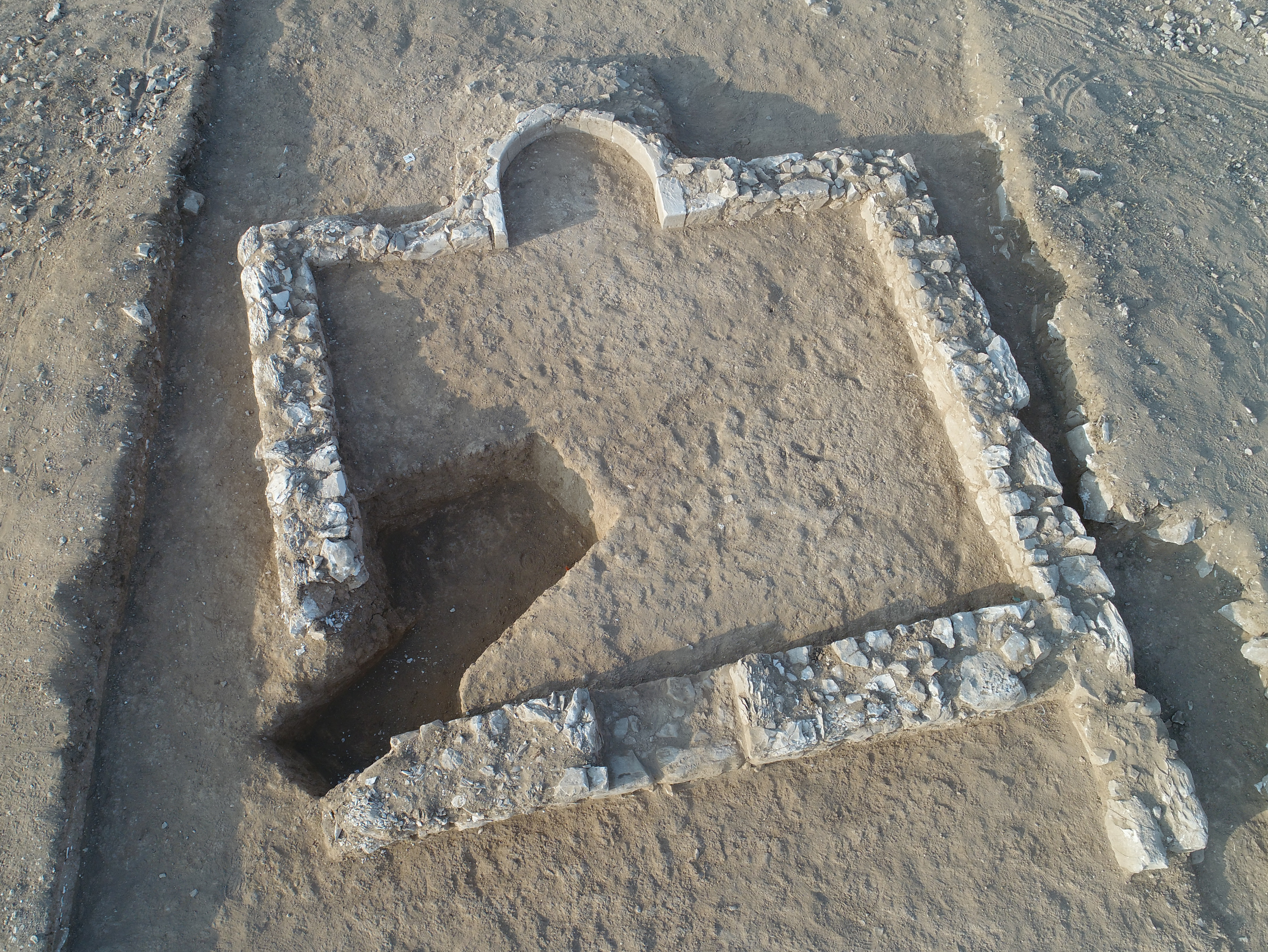 Remains of one the world's oldest known mosques discovered in Israel's Negev desert