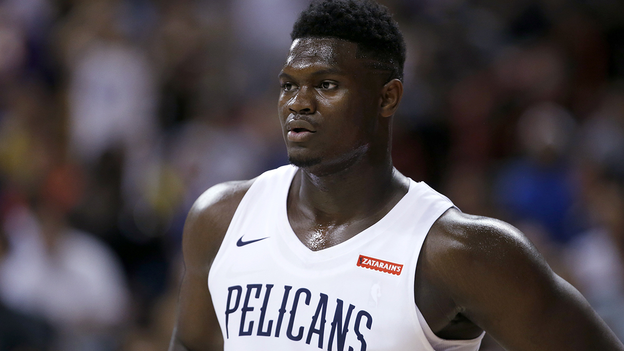 Westlake Legal Group NBA-Zion-Williamson4 Zion Williamson ruled out for rest of Summer League after suffering minor injury in Pelicans debut Ryan Gaydos fox-news/sports/nba/new-orleans-pelicans fox-news/sports/nba fox-news/person/zion-williamson fox news fnc/sports fnc article 4c827610-4085-532f-a268-20797e0ab9ca