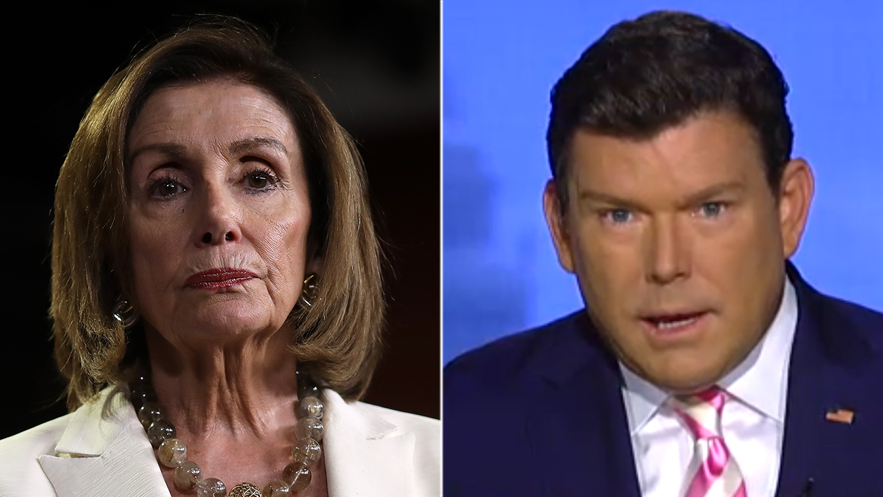 Westlake Legal Group Pelosi-BB-hetty Bret Baier: Censure vote against Trump a 'campaign commercial in the making' for House Democrats Nick Givas fox-news/person/rashida-tlaib fox-news/person/nancy-pelosi fox-news/person/ilhan-omar fox-news/person/donald-trump fox-news/person/alexandria-ocasio-cortez fox-news/media/fox-news-flash fox-news/entertainment/media fox news fnc/politics fnc f995bb2c-04ca-5f3e-846d-ef10f0d2bc77 article