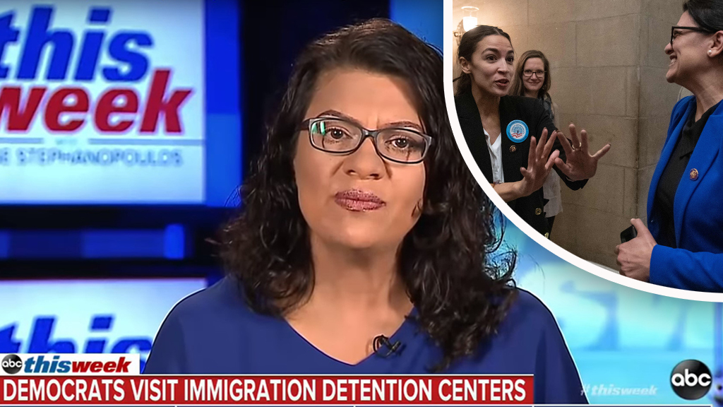 Westlake Legal Group Tlaib-ABC-Getty Tlaib doubles down on AOC's concentration camp comments, claims border agents believe it's a 'broken system' Nick Givas fox-news/us/immigration/border-security fox-news/politics/regulation/media fox-news/politics/house-of-representatives/democrats fox-news/person/rashida-tlaib fox-news/person/alexandria-ocasio-cortez fox news fnc/politics fnc b44ebc61-b6b1-5efe-b5db-71cf57b186d7 article