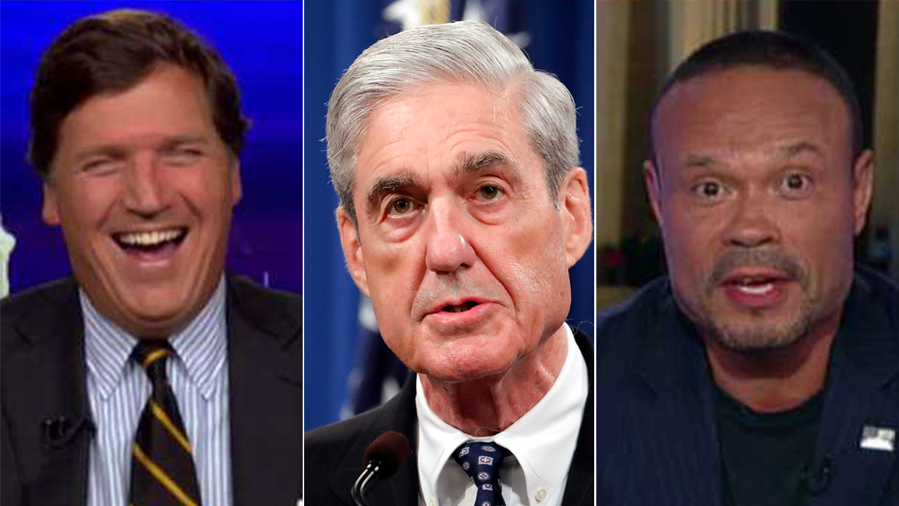 Tucker Carlson, Dan Bongino take on new cartoon version of Mueller report: 'Did they include the Strzok-Pag... thumbnail