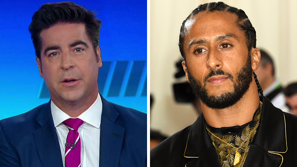 Westlake Legal Group Watters-Kaepernick_FOX-Getty Jesse Watters: Flag protesters like 'bitter' Kaepernick want 'to divide the country and make everybody else feel miserable' fox-news/topic/fox-news-flash fox-news/sports fox-news/person/colin-kaepernick fox-news/entertainment/media fox news fnc/politics fnc Charles Creitz article 3be44e9b-c3ca-50e7-9164-c7e39813d5d4 /FOX NEWS/LIFESTYLE/OCCASIONS/Holiday