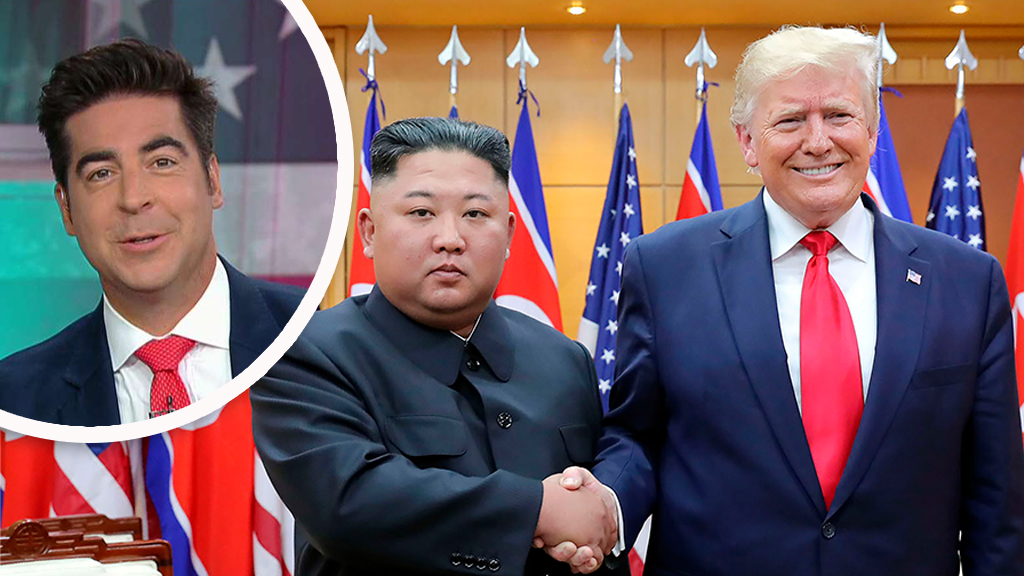 Westlake Legal Group Watters-Trump-and-Kim_FOX-AP Jesse Watters: Trump-Kim DMZ meeting will be key moment for historians fox-news/world/conflicts/north-korea fox-news/topic/fox-news-flash fox-news/politics/house-of-representatives/foreign-affairs fox-news/person/kim-jong-un fox-news/person/donald-trump fox-news/entertainment/media fox news fnc/politics fnc Charles Creitz article 4777a36b-ca1b-58a8-8925-04db78484cdb