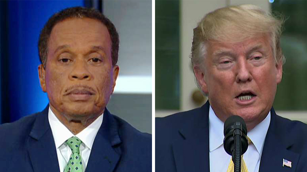 Westlake Legal Group Williams-Trump_FOX Juan Williams: Trump 'scaremongering,' using executive order to 'go around Supreme Court' on census fox-news/us/immigration fox-news/topic/fox-news-flash fox-news/shows/the-five fox-news/politics/executive/white-house fox-news/politics/executive/law fox-news/politics/executive/cabinet fox-news/person/donald-trump fox-news/entertainment/media fox news fnc/politics fnc Charles Creitz article 2a3ed5bc-01f6-52f7-82c0-8843520d407d
