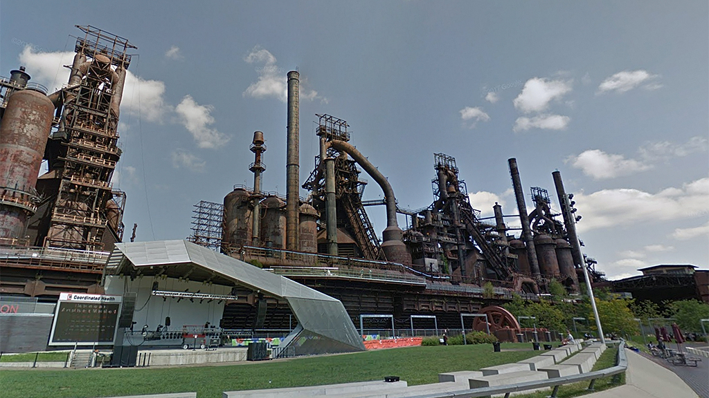 Westlake Legal Group bethlehem-steelstacks-Google-Maps Pennsylvania police in hours-long standoff with man standing on top of old blast furnace fox-news/us/us-regions/northeast/pennsylvania fox-news/us/crime/police-and-law-enforcement fox news fnc/us fnc David Aaro article 399f08cf-f417-5b14-ab58-be00c5114198