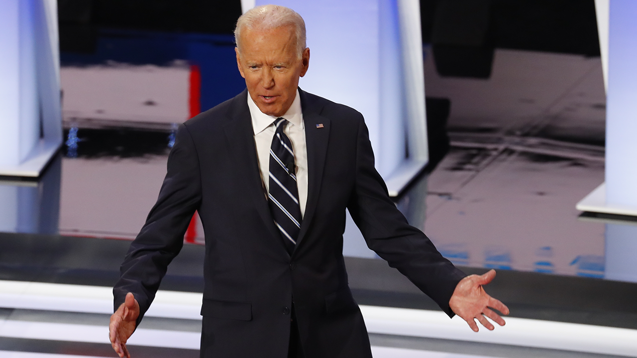 Westlake Legal Group bidendebate Biden prompts confusion with bungled pitch for supporters to text campaign Gregg Re fox-news/politics/2020-presidential-election fox news fnc/politics fnc bfc1c3d5-5c8a-5995-883a-30ce2773bb9a article