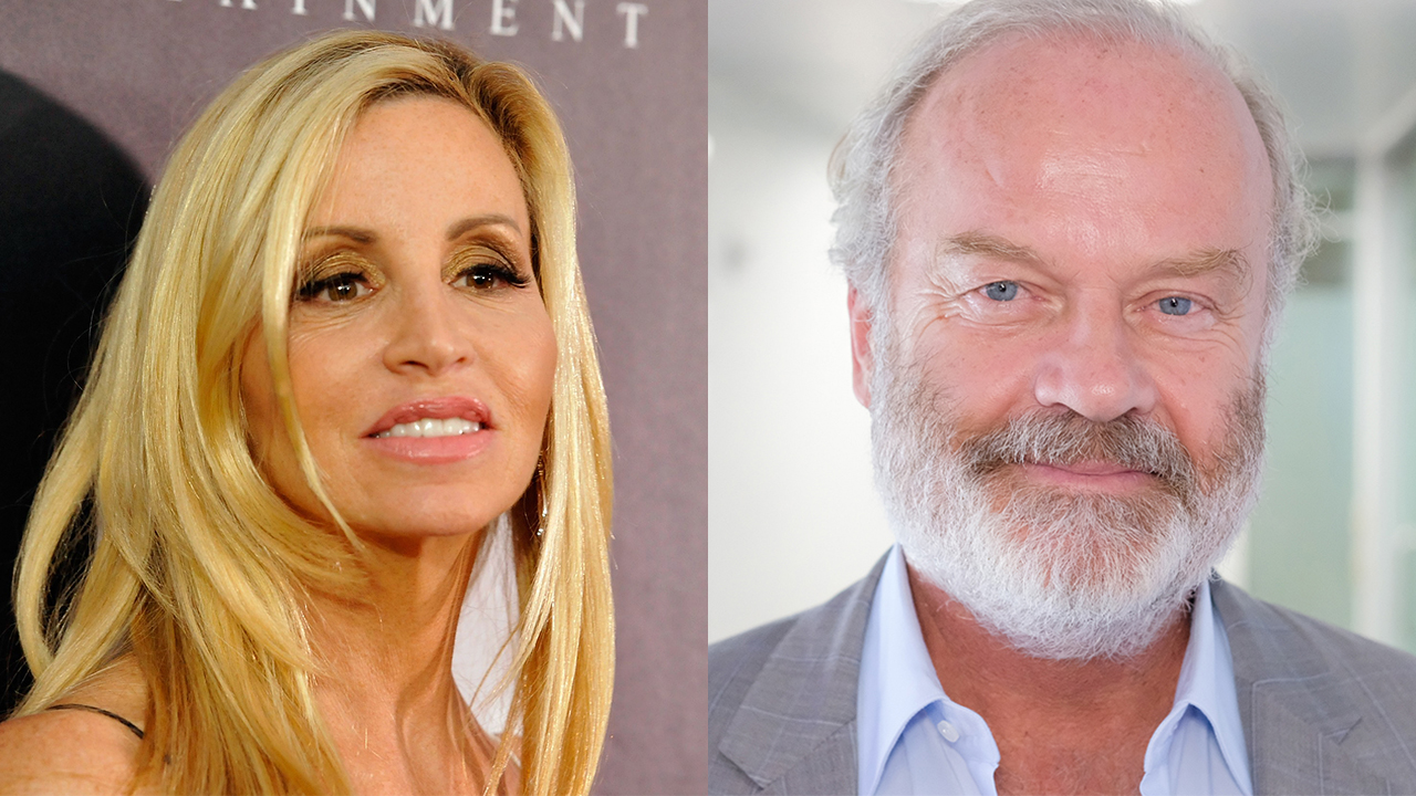 Camille Grammer responds to ex Kelsey's claims she asked for divorce on day of his mom's funeral