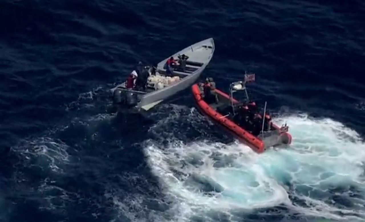 Westlake Legal Group coast-guard WATCH: Alleged cocaine smugglers toss items overboard during high-speed Pacific pursuit fox-news/us/military/coastguard fox-news/us/crime/drugs fox-news/us/crime fox news fnc/us fnc e18f7435-de3b-5f41-8427-b4225b7d8ff5 Danielle Wallace article