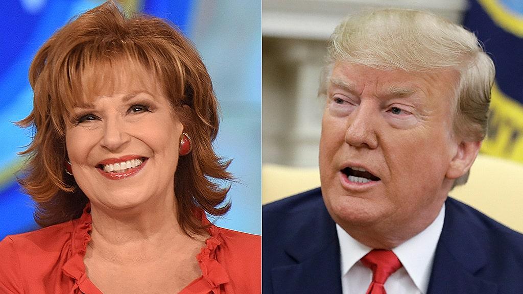 Westlake Legal Group joy-behar-donald-trump-ABC-AP Joy Behar asks why Trump can't be charged with 'hate speech' after rally Sam Dorman fox-news/politics/elections/first-amendment fox-news/person/joy-behar fox-news/person/donald-trump fox-news/media fox-news/entertainment/the-view fox-news/entertainment/media fox news fnc/entertainment fnc article 1e3a9b9c-8ca1-53e0-8f14-96ee8aad83be