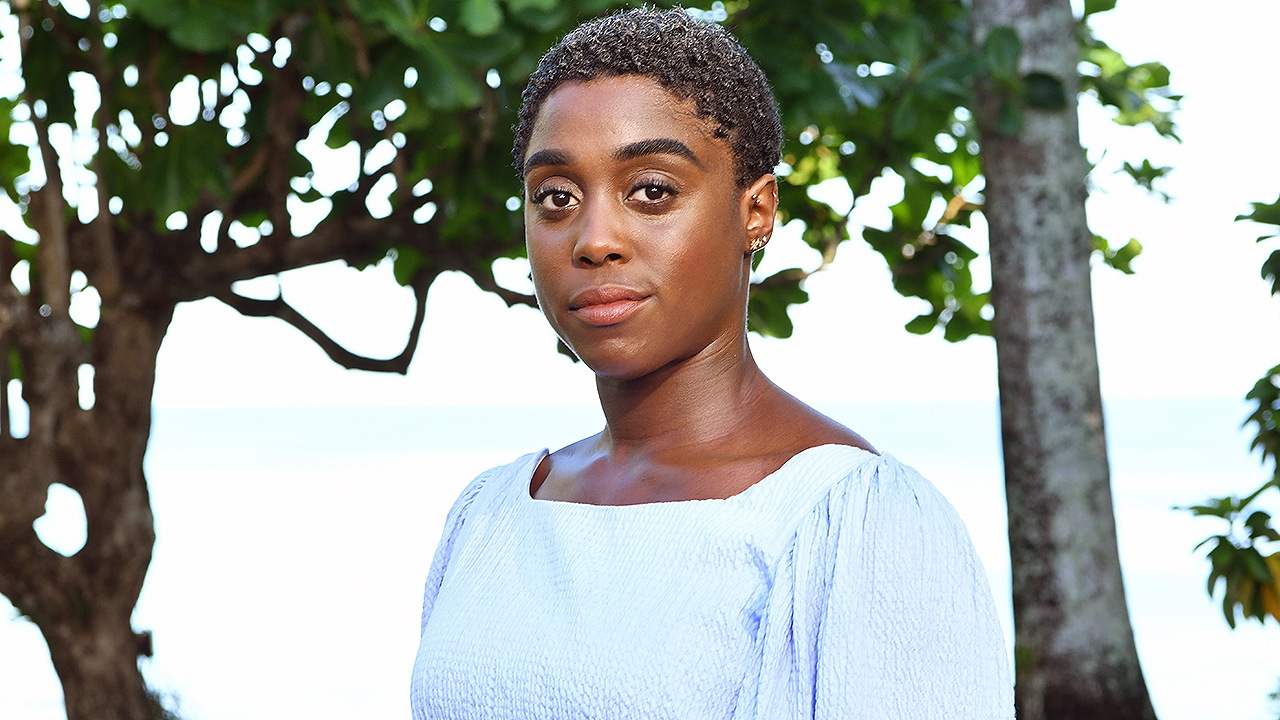 'No Time to Die' star Lashana Lynch reacts to the backlash over reports she's the next 007