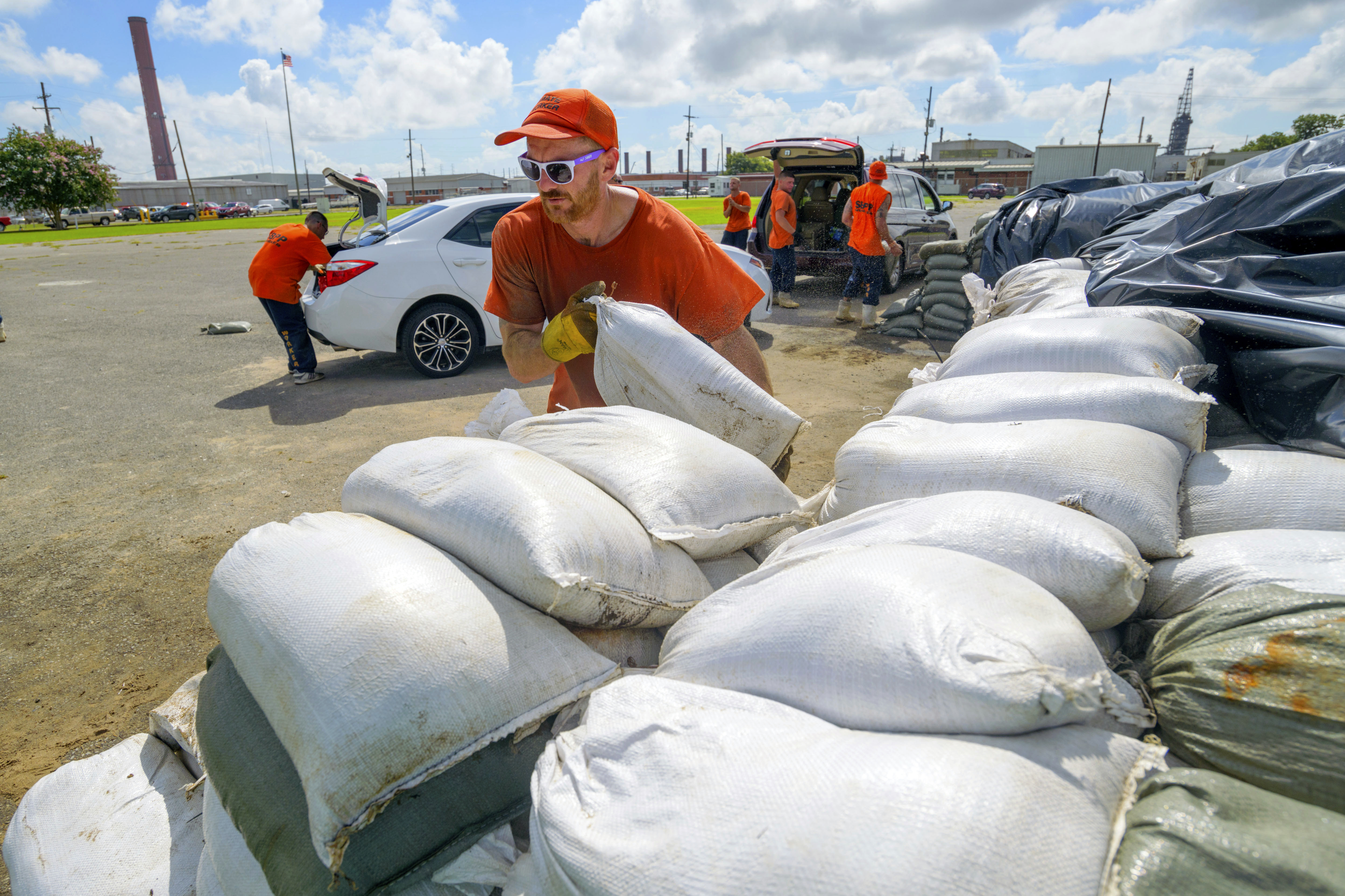 Westlake Legal Group louisian-sand-bags- President Trump declares state of emergency in Louisiana, sends federal assistance ahead of Tropical Storm Barry fox-news/weather fox-news/us/us-regions/southeast/louisiana fox news fnc/us fnc Danielle Wallace article 82b1a3ea-613a-5b6f-af1a-7286b167c085