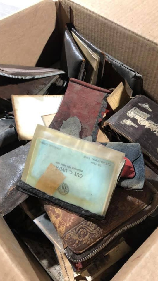 Westlake Legal Group missing-wallets Women's stolen wallet discovered in vent with 14 others at old Illinois high school 75 years later Travis Fedschun fox-news/us/us-regions/midwest/missouri fox-news/us/us-regions/midwest/illinois fox-news/us/education/high-school fox-news/odd-news fox news fnc/us fnc article 8ffe7a22-7563-527b-b404-1363f0be2f9b