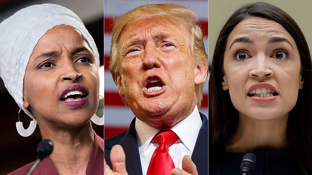 Westlake Legal Group omar-trump-AOC-AP AOC says Trump 'relished' rally chant about Omar, doesn't want to be president anymore Sam Dorman fox-news/us/immigration fox-news/person/donald-trump fox-news/person/alexandria-ocasio-cortez fox news fnc/politics fnc article 617b437c-9c0d-5ff7-ba8b-02a0bfb7cf21