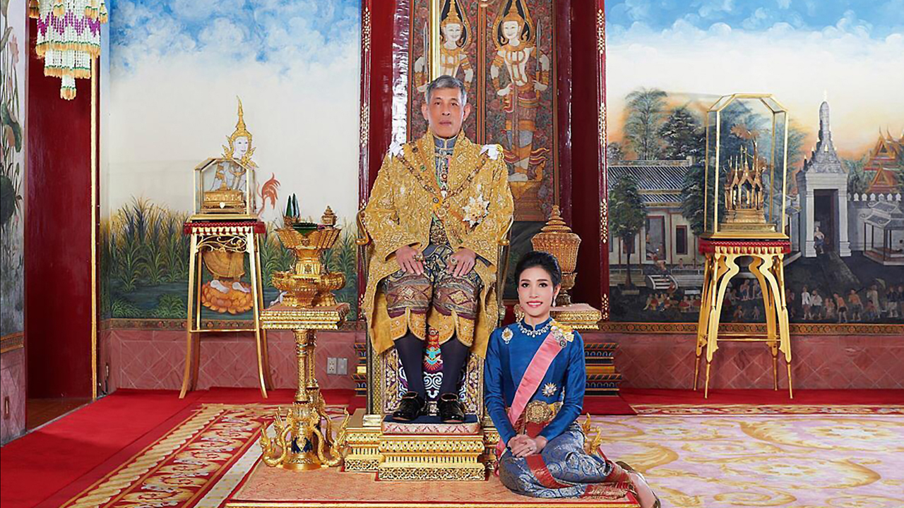 Thai king strips 'ungrateful' mistress of official concubine title over 'ambitious' efforts to replace queen
