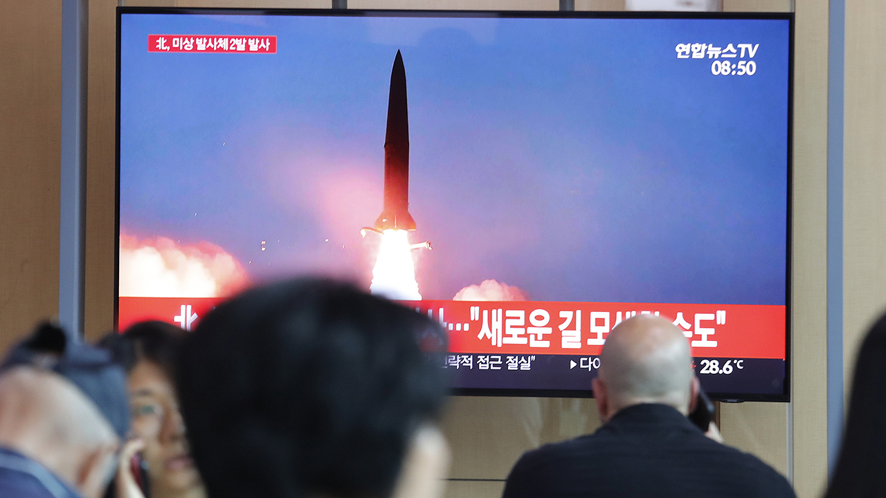 North Korea launches 2 more short-range missiles, US official says