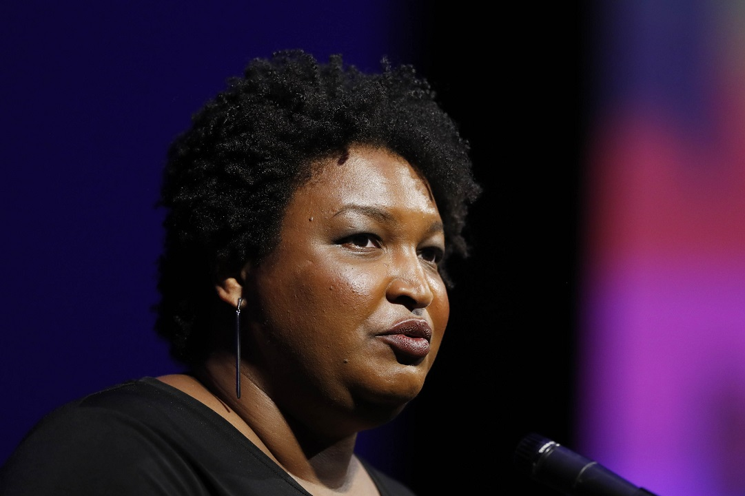 photo image Stacey Abrams won't join presidential fray, will focus on voter suppression instead: reports