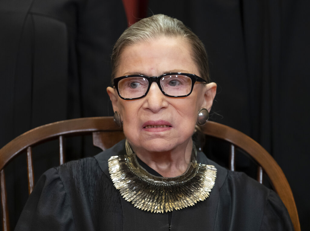 Supreme Court justices share thoughts of loss and praise for Ruth Bader Ginsburg