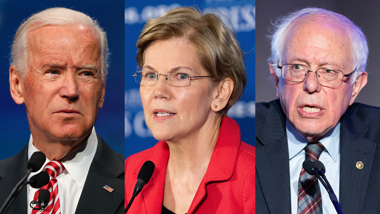 Fox News Poll: Biden and Warren gain ground in Democratic race