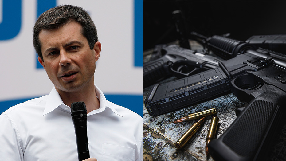 Westlake Legal Group Buttigieg-Rifle Pete Buttigieg dodges question on mandatory 'assault weapon' buyback during CNN interview Nick Givas fox-news/us/personal-freedoms/second-amendment fox-news/politics/2020-presidential-election fox-news/person/pete-buttigieg fox-news/media fox news fnc/media fnc article 106b72ab-390a-5bb6-b440-d514c0708b7e