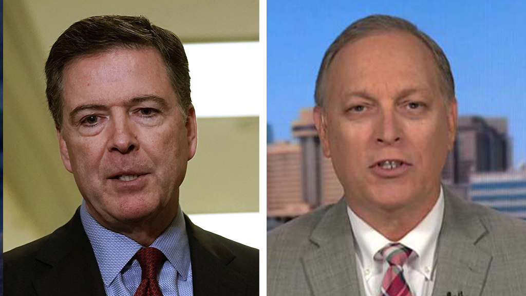 Westlake Legal Group Comey-Biggs_Getty-FOX Rep. Biggs on Comey: 'We've rarely seen somebody so delusional and self-serving' Victor Garcia fox-news/politics/house-of-representatives/republicans fox-news/person/james-comey fox-news/media/fox-news-flash fox-news/media fox news fnc/media fnc article 4e7b8a4c-e8b3-5071-b592-155023153ae8