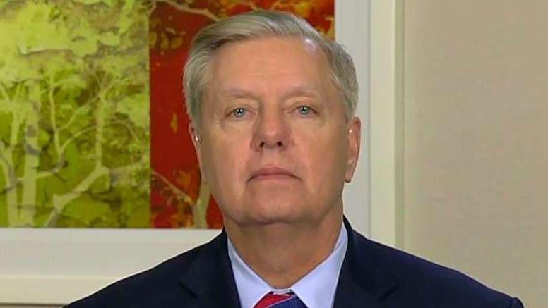 Lindsey Graham話戦争力法を露骨に違憲