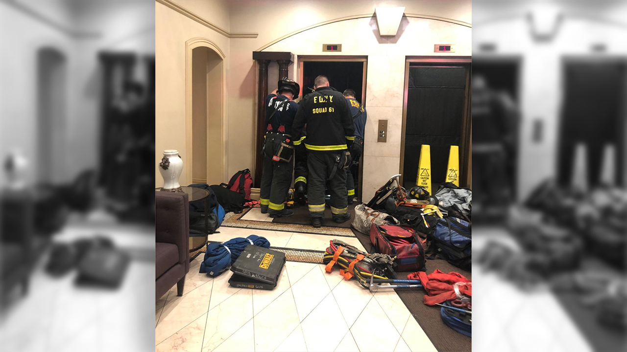 Man in NYC killed when elevator drops, crushes him between shaft and wall: report