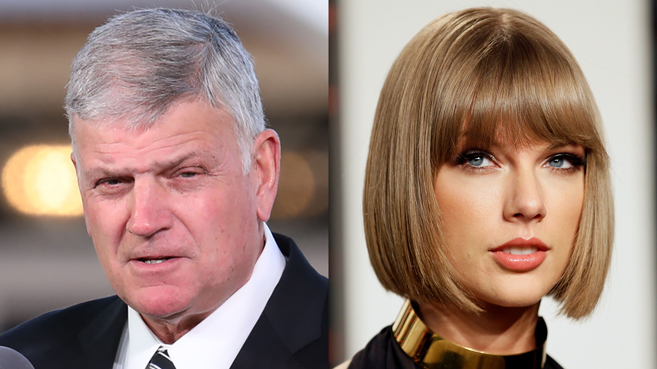 Franklin Graham slams Taylor Swift's Equality Act support as 'crushing threat to religious liberty'