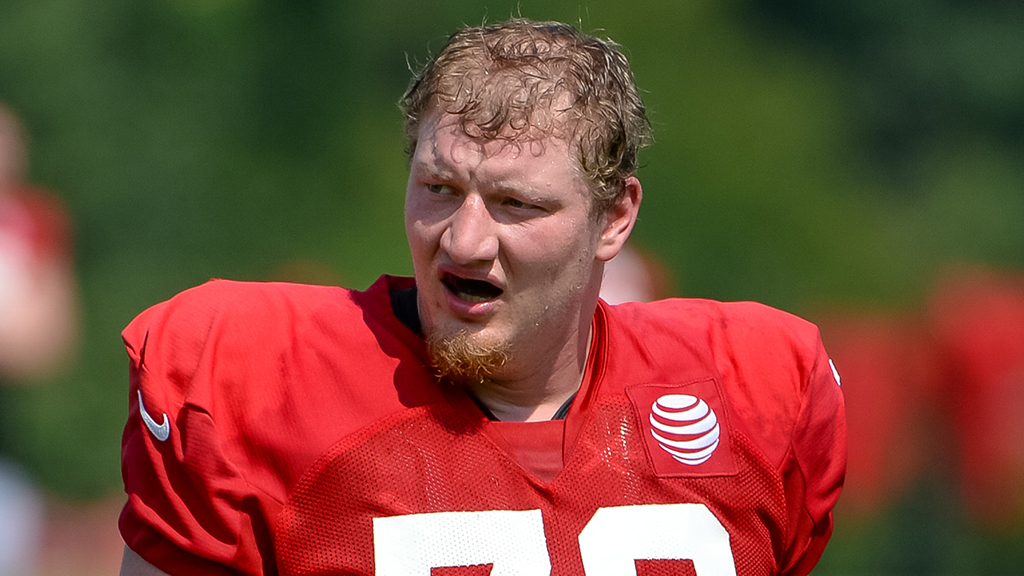 Atlanta Falcons' Kaleb McGary has interesting way to describe knee injury
