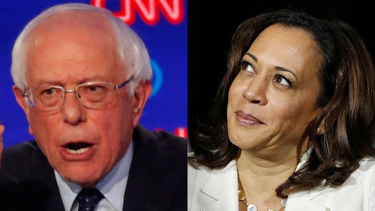 Sanders mocks Harris over 'Medicare-for-all' criticism