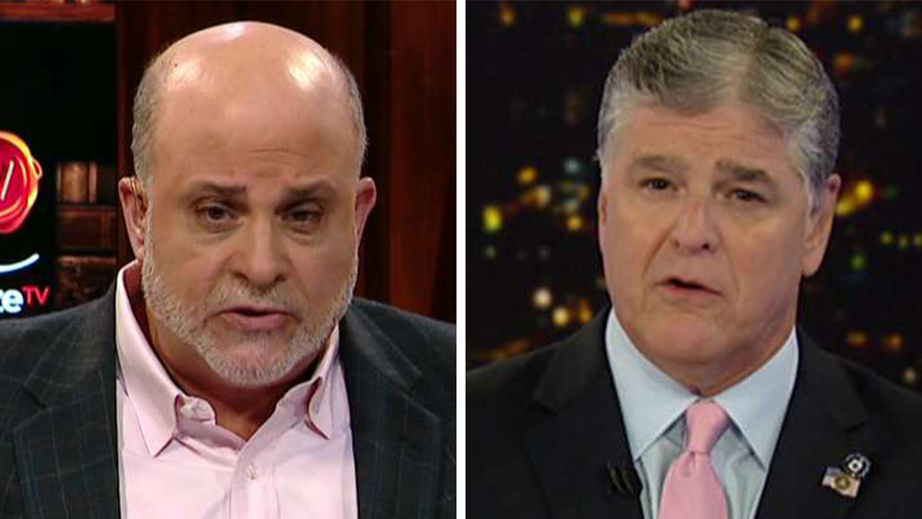 Westlake Legal Group Levin-Hanitty_FOX Mark Levin: 'Unpatriotic' news media hates Trump, treats 'half of America' contemptuously fox-news/us/education/patriotism fox-news/shows/hannity fox-news/person/michael-avenatti fox-news/person/donald-trump fox-news/media/fox-news-flash fox news fnc/media fnc Charles Creitz article 3d141339-997f-5c86-9ce9-87af875d44f2
