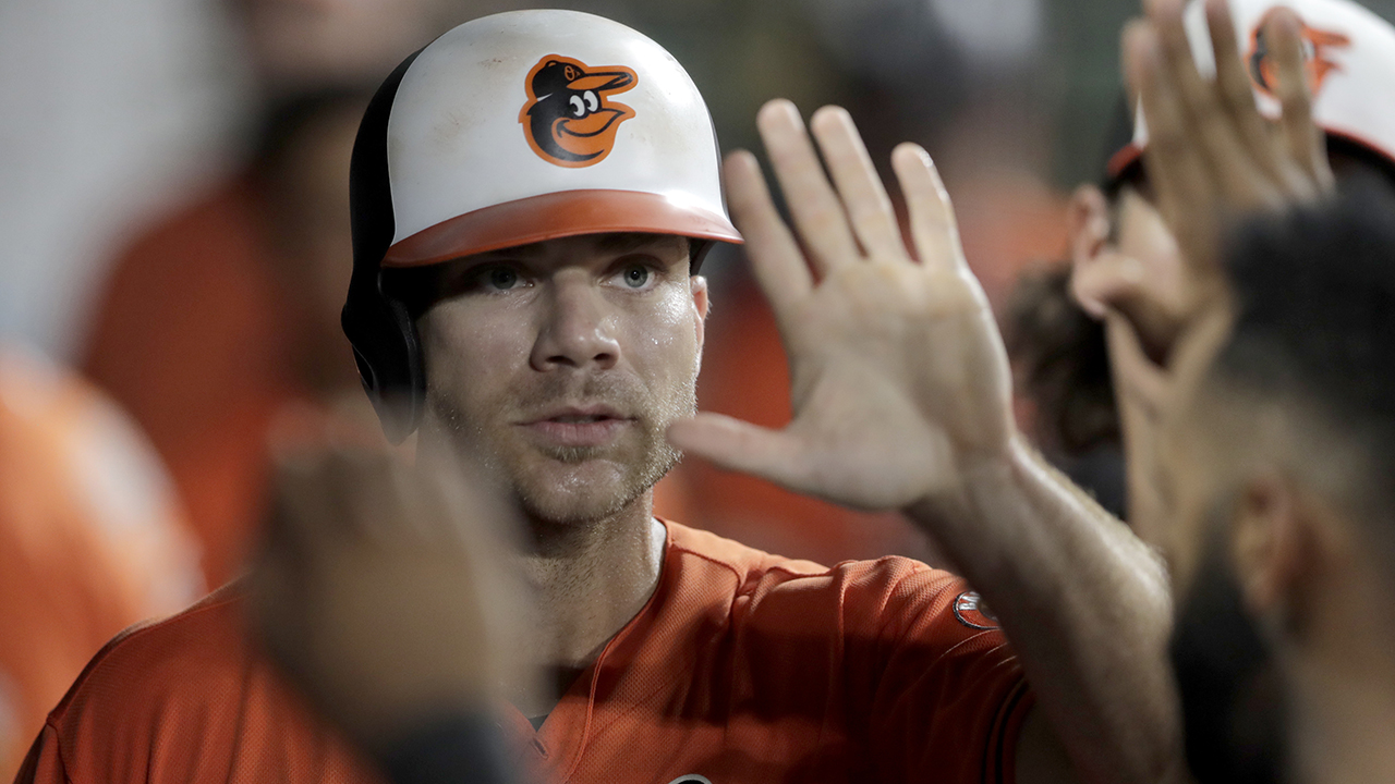 Westlake Legal Group MLB-Chris-Davis2 Baltimore Orioles' Chris Davis needs to be held back in dugout spat with manager Brandon Hyde Ryan Gaydos fox-news/sports/mlb/baltimore-orioles fox-news/sports/mlb fox news fnc/sports fnc article 9e18d8c2-1c7e-547e-8054-4a039443f8cf