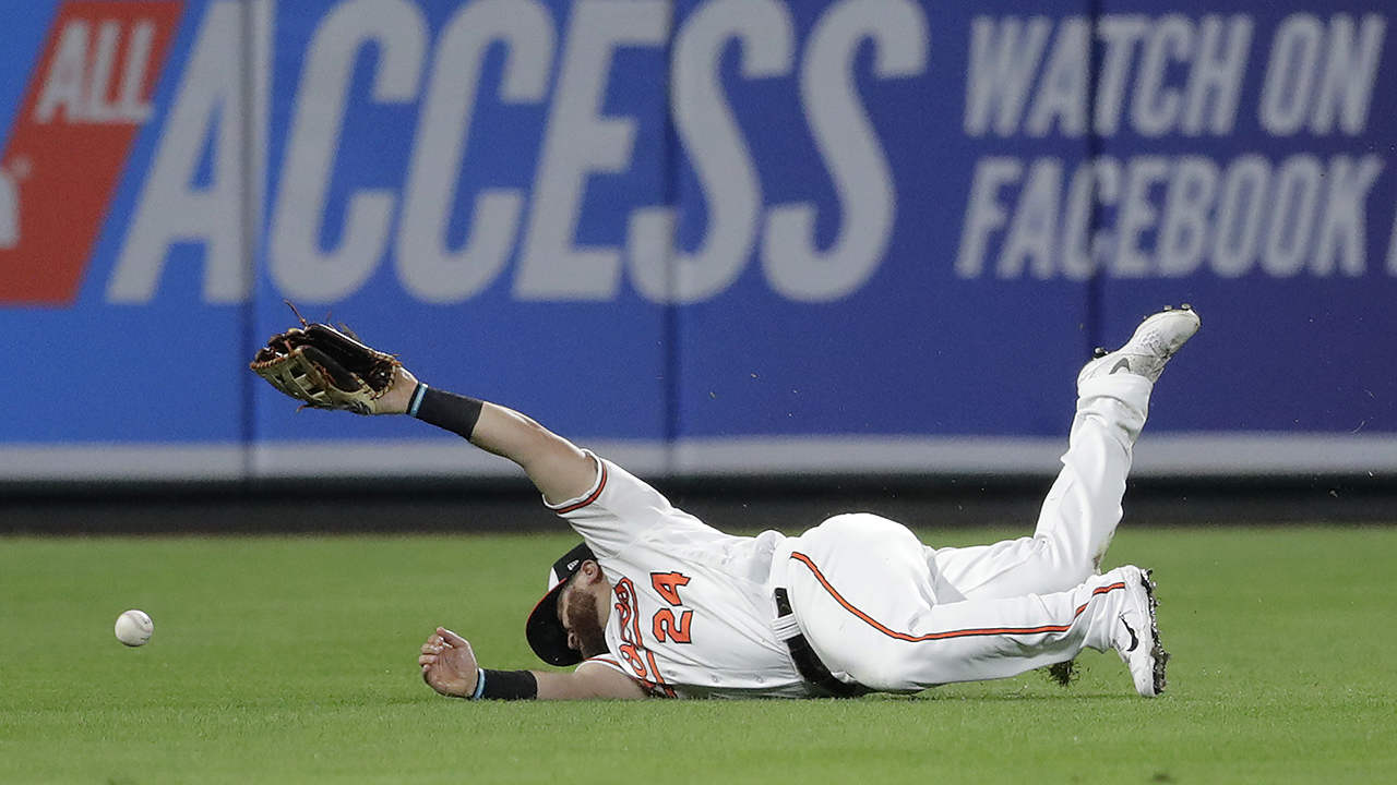 Westlake Legal Group MLB-DJ-Stewart Baltimore Orioles' DJ Stewart suffers concussion after bizarre missed catch Ryan Gaydos fox-news/sports/mlb/baltimore-orioles fox-news/sports/mlb fox news fnc/sports fnc article 4780112f-4a10-5e92-b1c8-91155ad0fea7