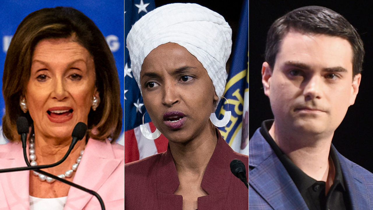 Westlake Legal Group Nancy-Pelosi-split Shapiro: Pelosi committed 'great sin' by putting 'radical,' 'nasty' Omar on foreign relations committee Sam Dorman fox-news/world/world-regions/israel fox-news/shows/the-ben-shapiro-show fox-news/person/rashida-tlaib fox-news/person/ilhan-omar fox-news/person/ben-shapiro fox-news/media fox news fnc/media fnc article 6c13a94a-2b98-5ecb-a9a6-6eddc1d2f073