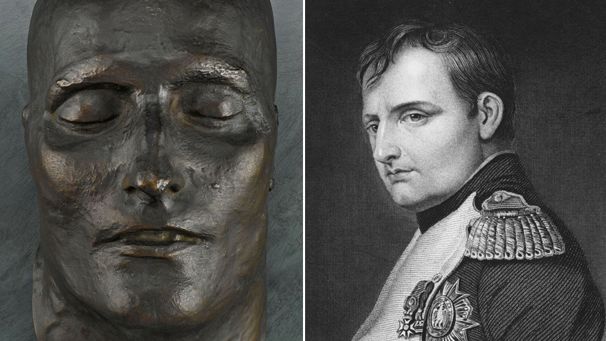 Napoleon's bronze death mask still shrouded in mystery almost 200 years later thumbnail