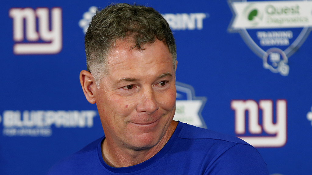 Westlake Legal Group Pat-Shurmur-Reuters New York Giants' Pat Shurmur finds standout tackle and 'dog'ged defender Ryan Gaydos fox-news/sports/nfl/new-york-giants fox-news/sports/nfl fox news fnc/sports fnc article 1a90896b-b0bc-5fbe-8003-c579519a61f4