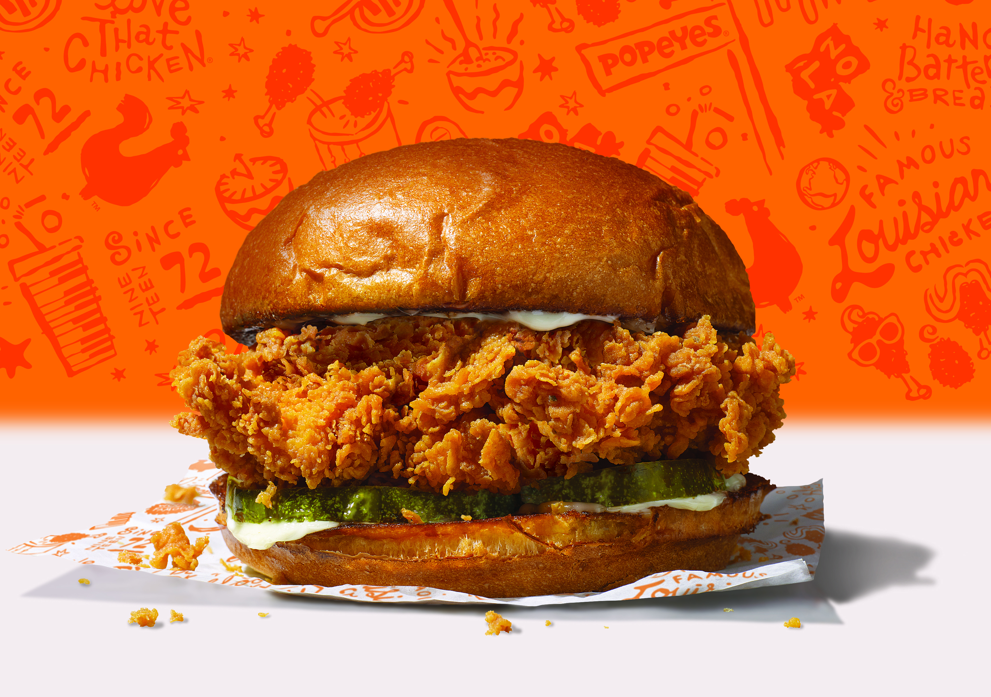 Westlake Legal Group Popeyes-Chicken-Sandwich Popeyes' chicken sandwich is surprise hit: 'We didn't expect this type of reaction' Michael Hollan fox-news/food-drink/food/fast-food fox news fnc/food-drink fnc article a1212fbd-b84a-59db-9ac6-59a88650075d