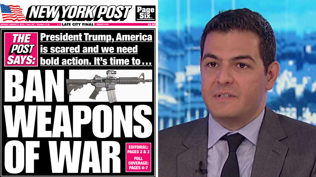 Westlake Legal Group Post-Ahmari NY Post opinion editor defends 'ban weapons of war' cover: 'Reasonable' regulation can prevent future tragedy fox-news/us/us-regions/northeast/new-york fox-news/media/fox-news-flash fox-news/media fox-news/entertainment/media fox news fnc/media fnc Charles Creitz article 40c8d1f3-b445-56f7-a718-084bbb6e43d0