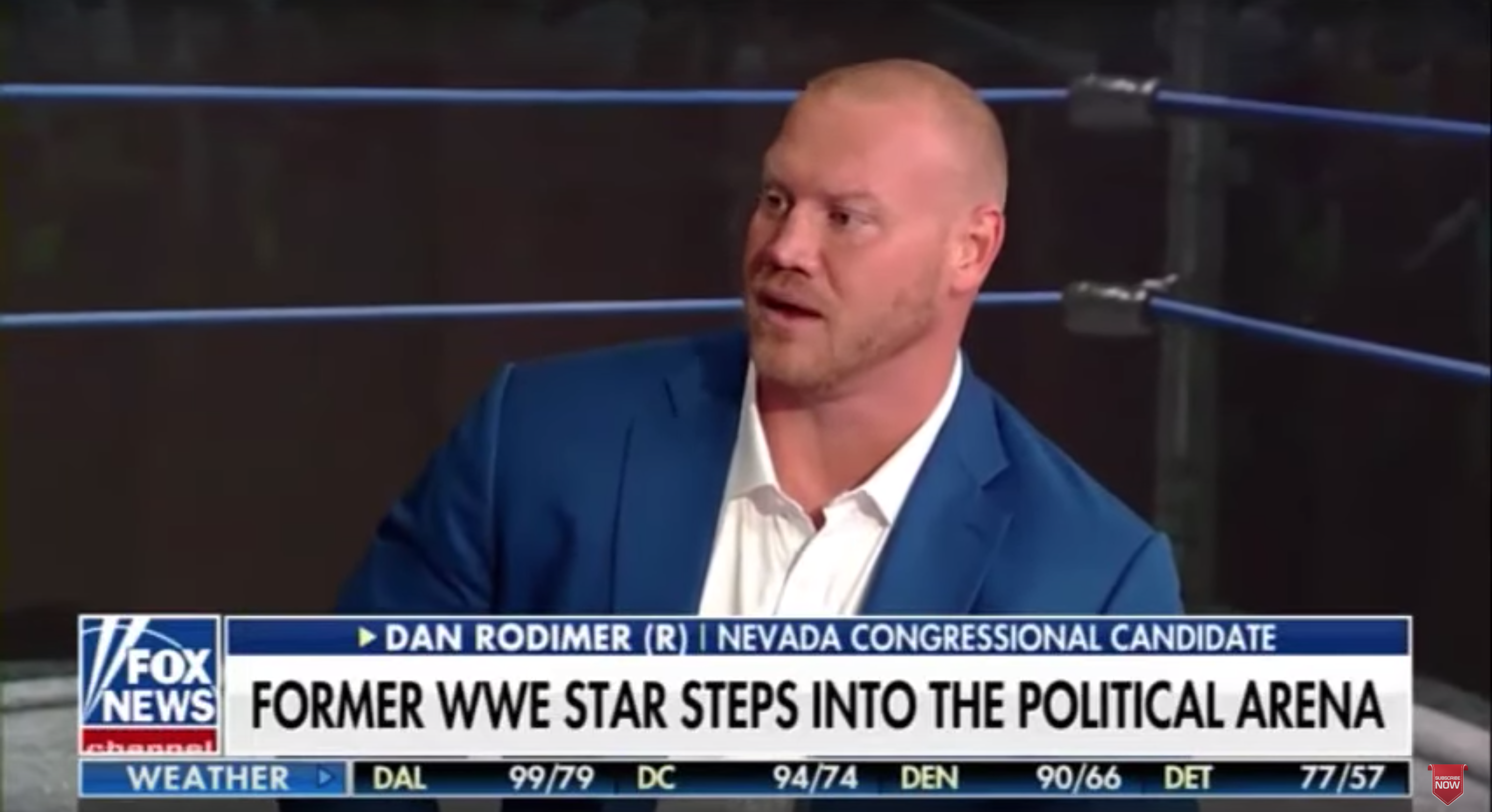 Former WWE star and congressional candidate wants to work with President Trump