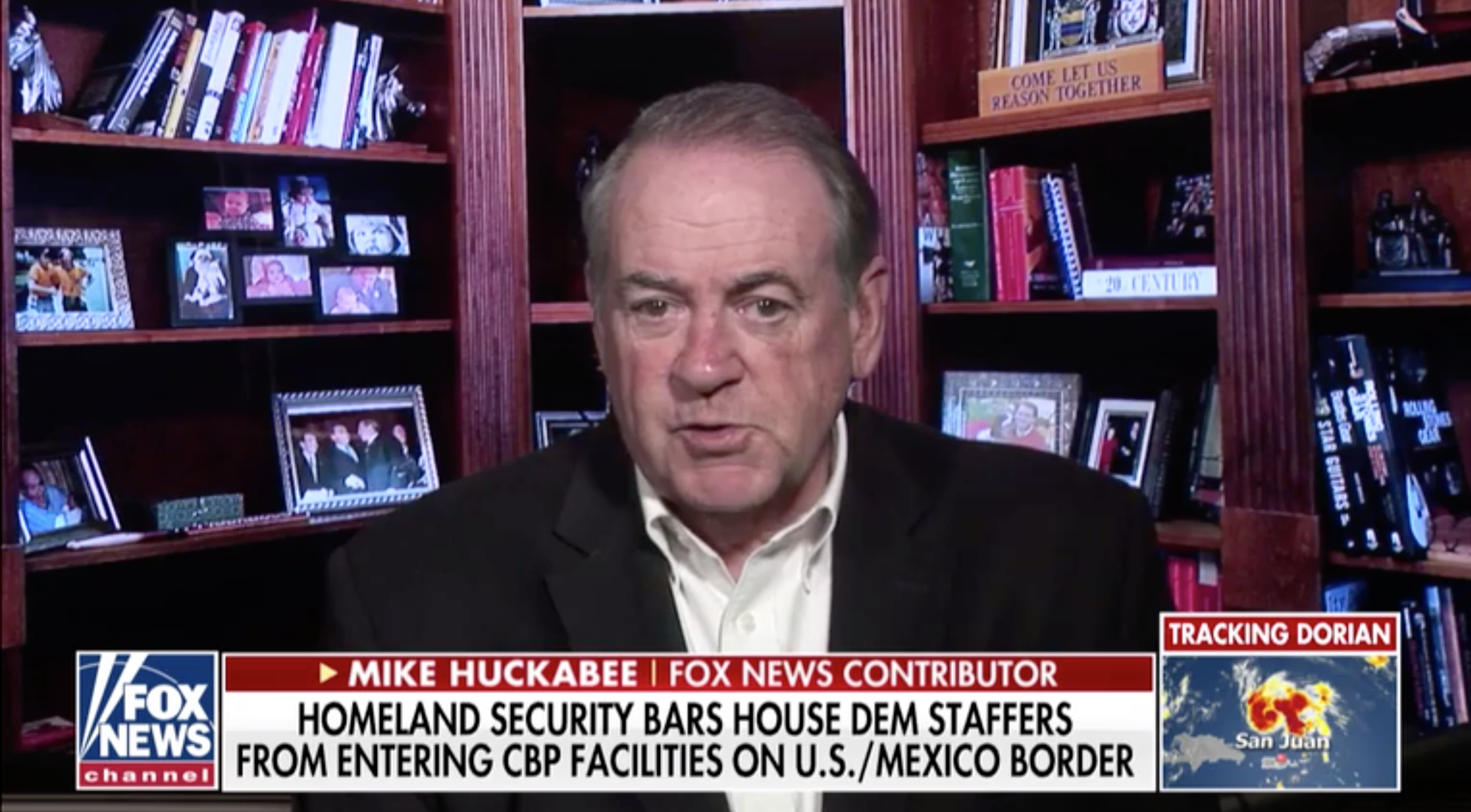 'It is all politics': Mike Huckabee defends DHS for barring Democratic staff from border facilities