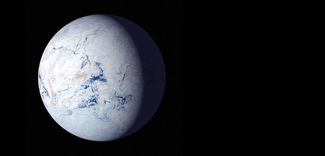 Earth's oldest asteroid strike may have ended 'Snowball Earth'