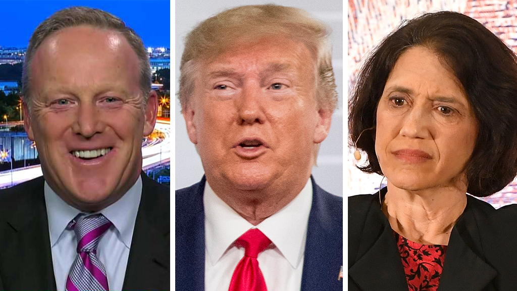 Westlake Legal Group Spicer-Trump-Rubin_FOX-AP-Getty Sean Spicer: Trump critics should learn from his supporters instead of demonizing them fox-news/shows/hannity fox-news/politics/executive/white-house fox-news/politics/elections/republicans fox-news/politics/elections/democrats fox-news/person/donald-trump fox-news/media/fox-news-flash fox-news/media fox news fnc/media fnc Charles Creitz article 93456f0a-367d-5bba-92bb-1a3bbd2eeab8