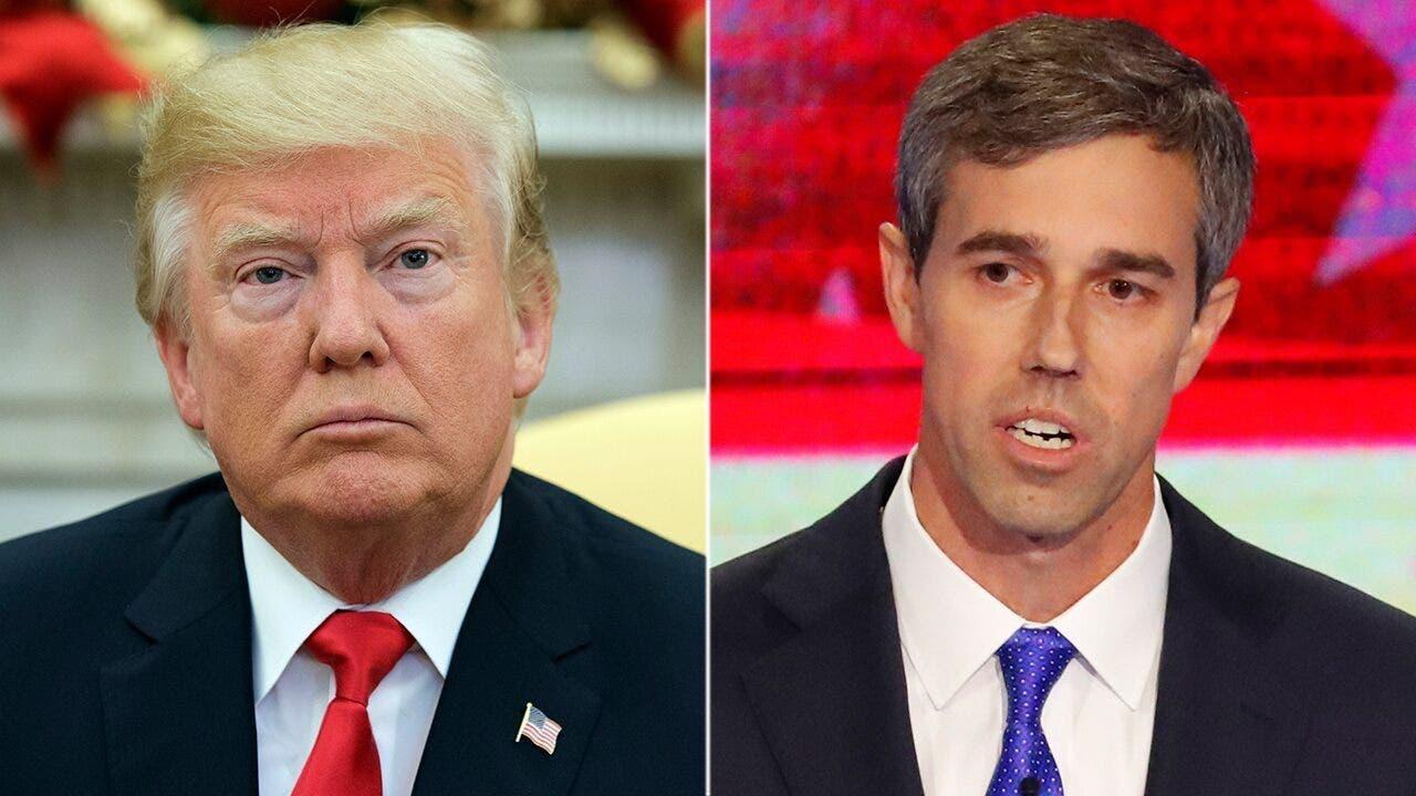 Trump warns 'Dummy Beto' making gun deal 'much harder' with confiscation rhetoric