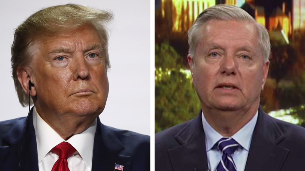 Westlake Legal Group Trump-Graham_AP-FOX Lindsey Graham pledges to be Trump's 'worst nightmare' on Syria if necessary Sam Dorman fox-news/world/world-regions/turkey fox-news/world/conflicts/syria fox-news/world fox-news/person/donald-trump fox-news/media fox news fnc/media fnc ec6ab6d3-d576-5a17-b0c0-8001d871a58b article