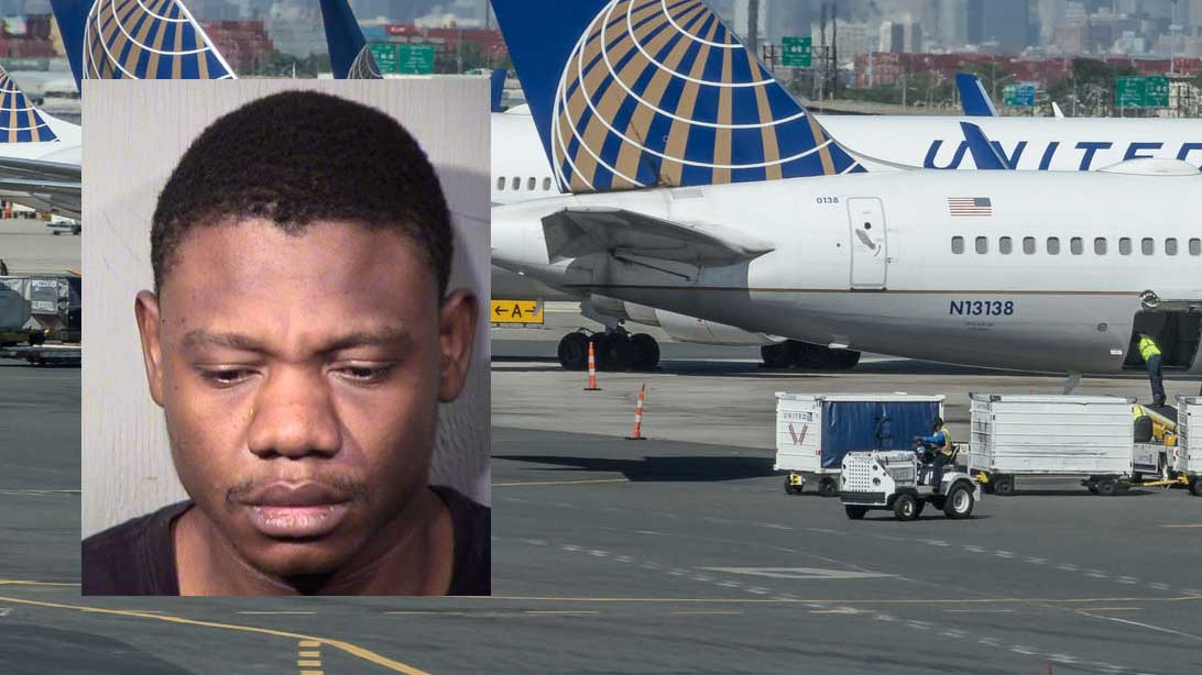 Man trespasses at Phoenix airport, activates emergency slide on United Airlines aircraft