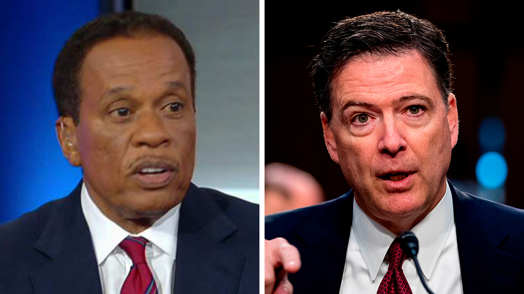 Westlake Legal Group Williams-Comey_FOX-AP Juan Williams to critics calling on Comey to be charged: 'Get off that horse' Victor Garcia fox-news/shows/the-five fox-news/person/james-comey fox-news/news-events/russia-investigation fox-news/media/fox-news-flash fox-news/media fox news fnc/media fnc article 0fd28f6d-6ac6-5630-92cb-e42d09e27b58