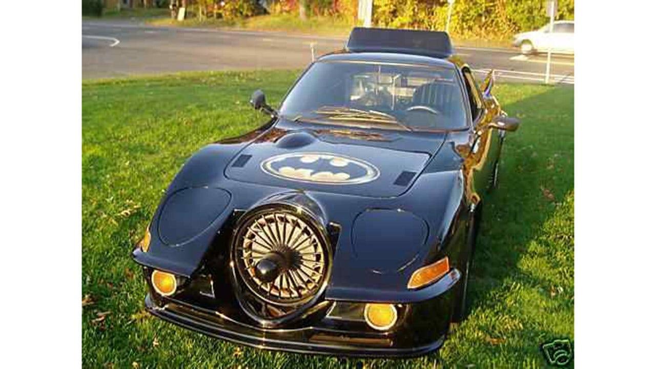 Caped Crusader fan selling unique Batmobile tribute car on Craigslist