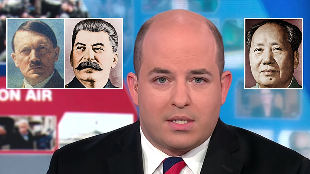 CNN's Brian Stelter widely ridiculed after blaming tech issues for bizarre anti-Trump segment