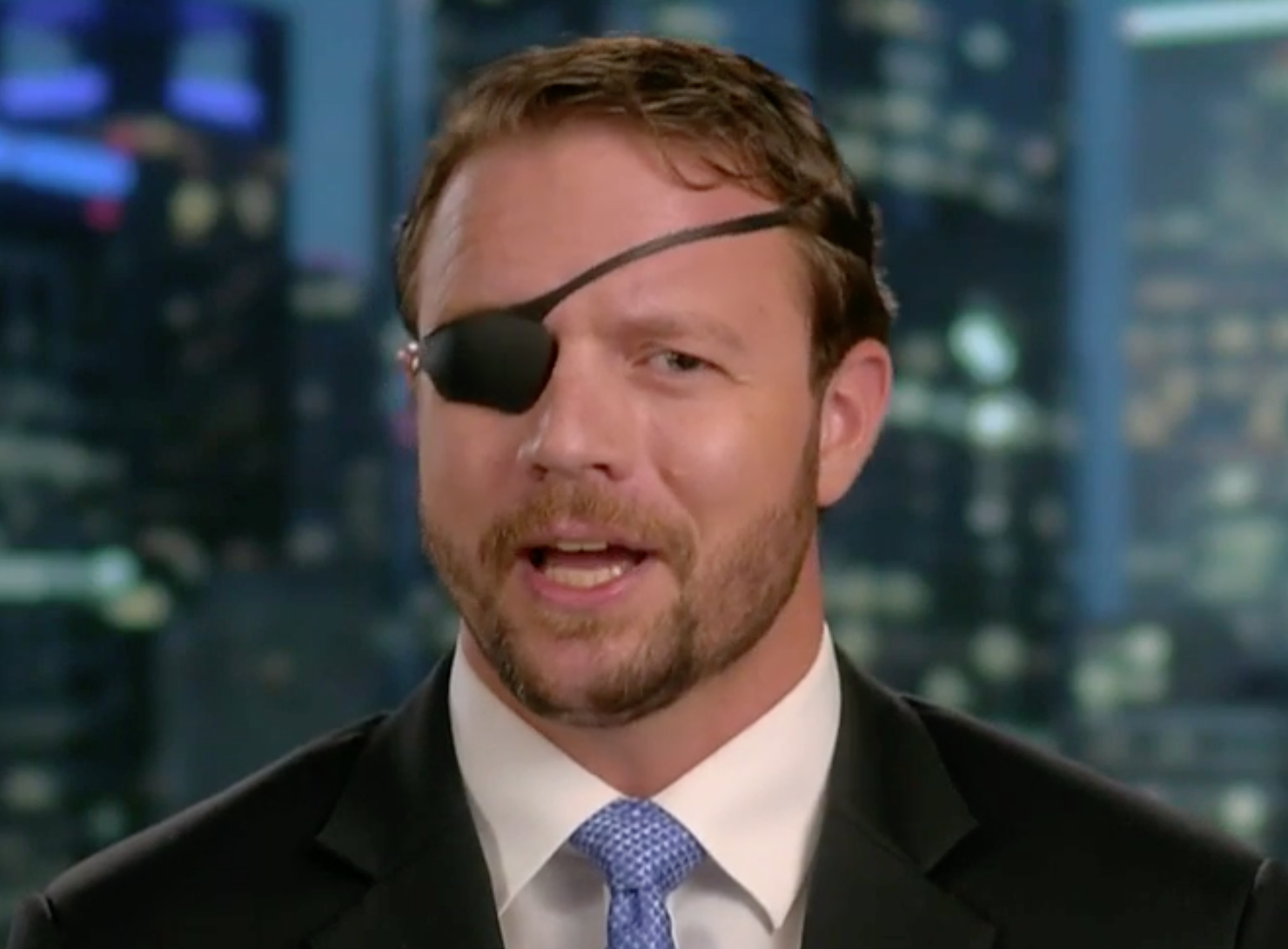 GOP's Dan Crenshaw fires back after called 'racist' by Democrat who compared Trump to Usama bin Laden